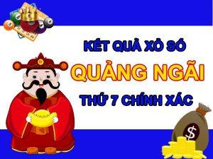 Soi cầu XSQNG 9/10/2021 chốt kết quả Quảng Ngãi